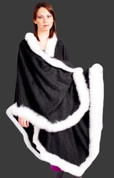 Image result for baby alpaca fur Cape