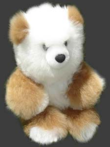 These Alpaca Fur Teddy Bears are special for present
