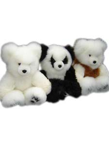 Our softness baby alpaca fur teddy bears are special for present