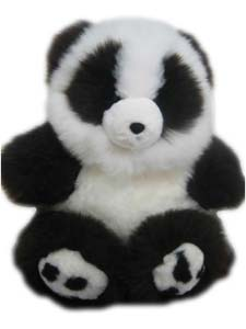 Our Baby Alpaca Fur Panda Teddy Bears are special as present