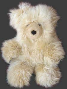 our baby alpaca fur teddy bears are handmade in huacayo and suri qualities